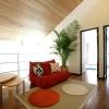 静岡県静岡市の工務店Sanki Haus(サンキハウス)・ダニッシュ画像3・吹き抜け
